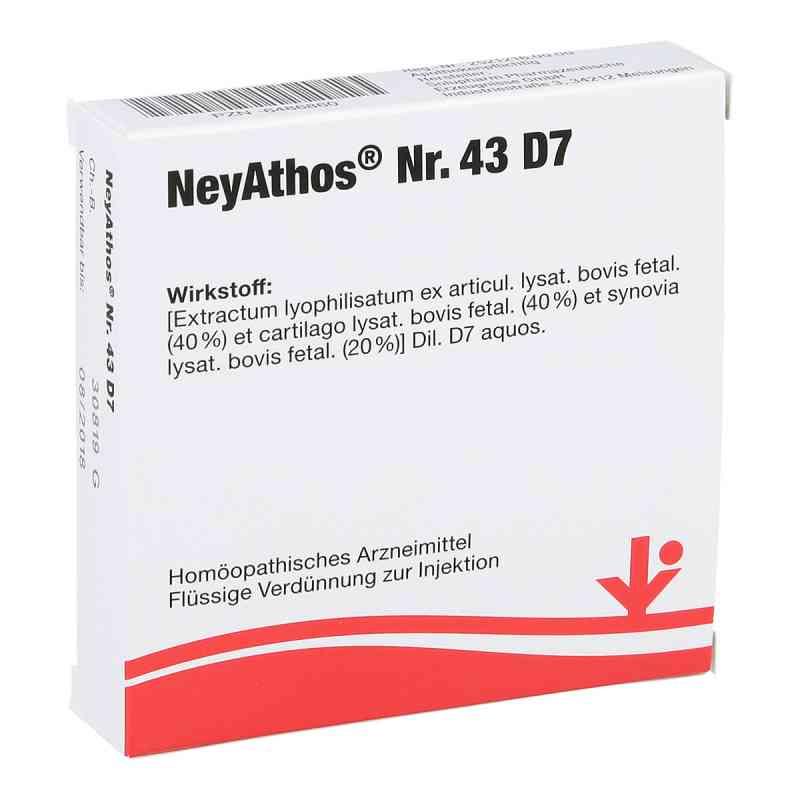 Neyathos Nummer 4 3 D7 Ampullen  bei versandapo.de bestellen