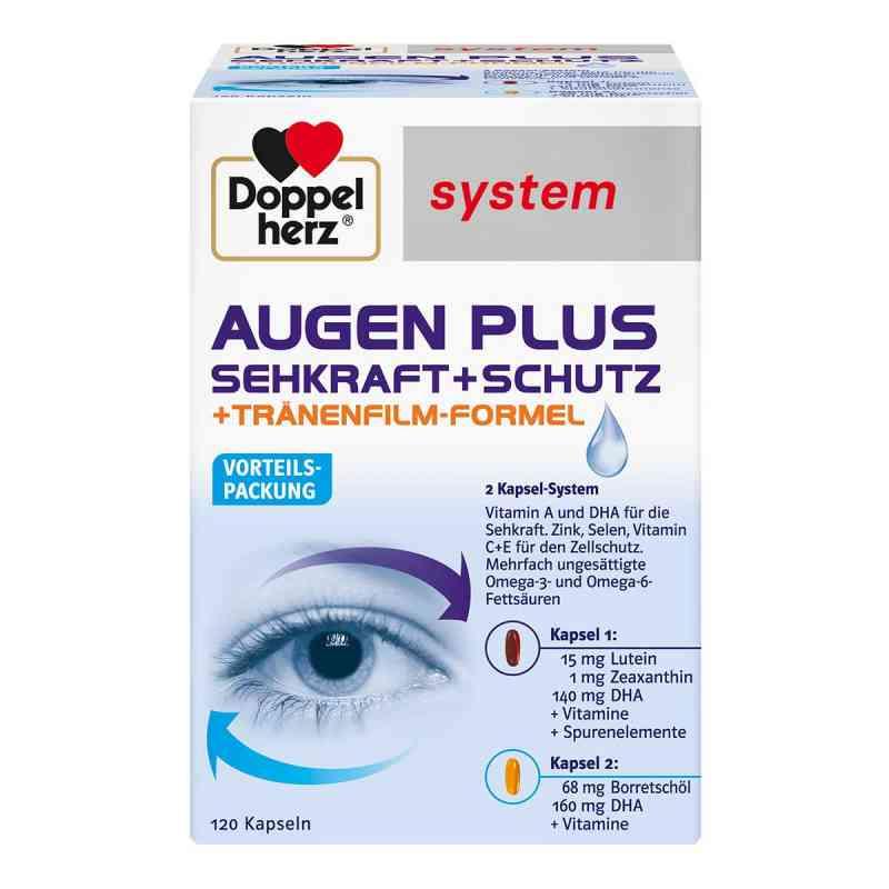 Doppelherz Augen plus Sehkraft+Schutz System Kaps.  bei versandapo.de bestellen