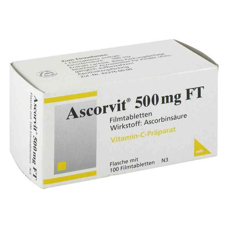 Ascorvit 500 mg Ft Filmtabletten  bei versandapo.de bestellen