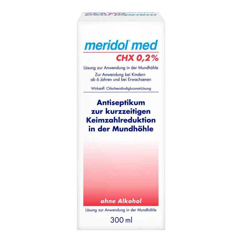 Meridol med CHX 0,2% Lösung zur Anwendung in der Mundhöhle  bei versandapo.de bestellen