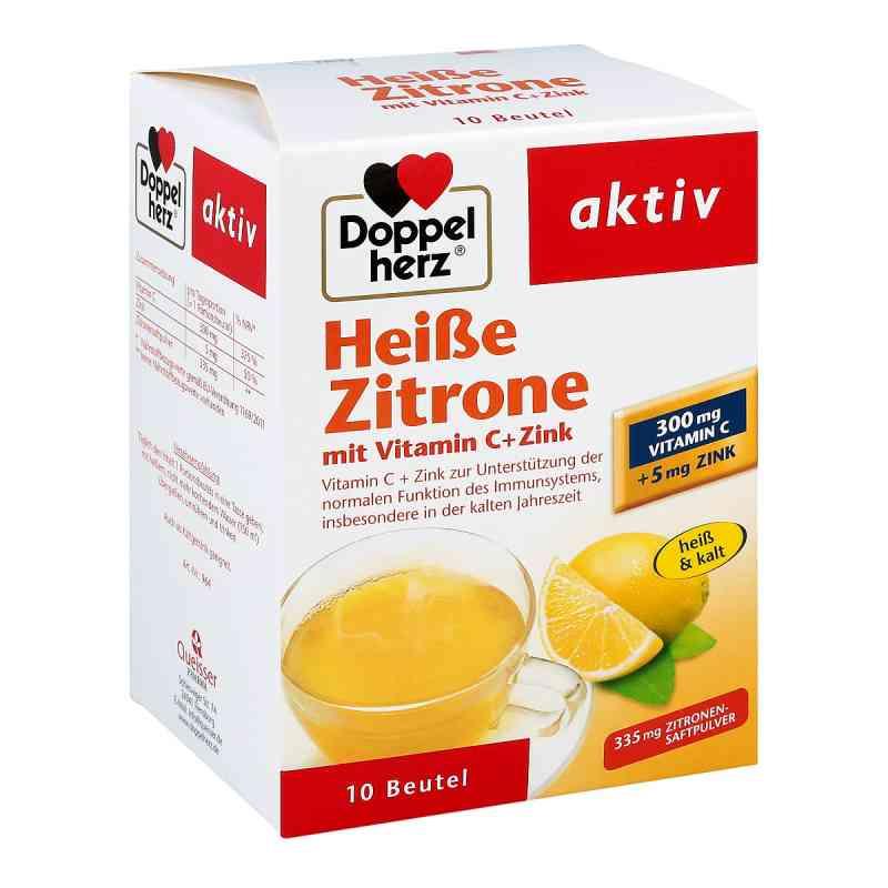 Doppelherz Heisse Zitrone Vitamin C + Zink Granula  bei versandapo.de bestellen