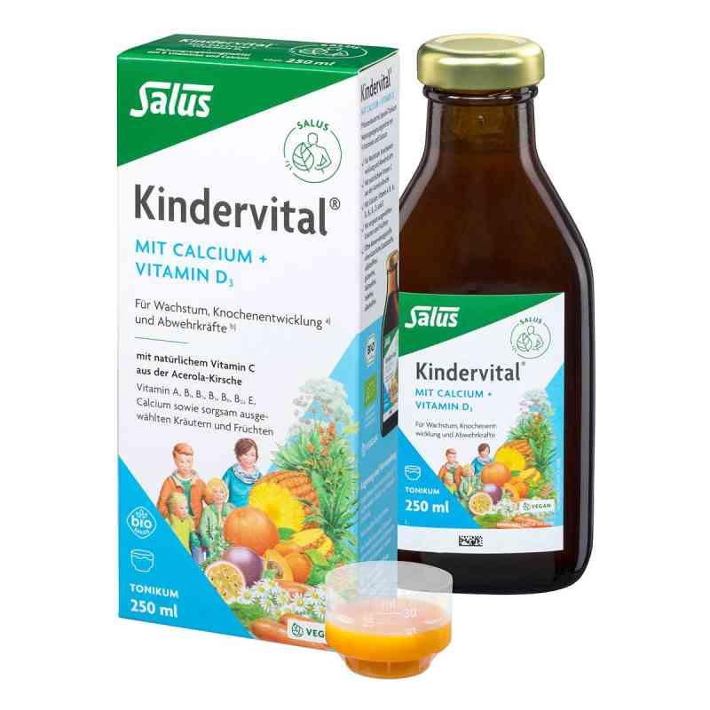 Kindervital Bio mit Calcium+d3 Tonikum Salus  bei versandapo.de bestellen