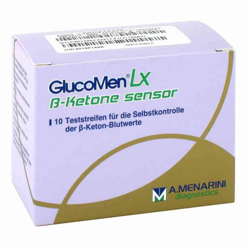 Glucomen Lx Plus Ketone Sensor Teststreifen  bei versandapo.de bestellen