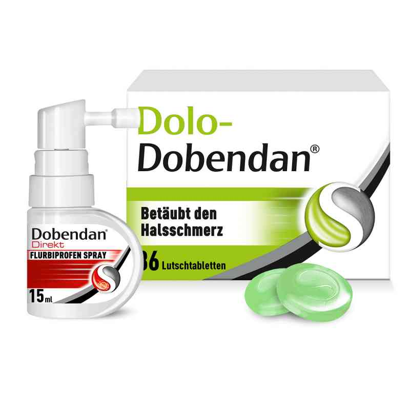 Dolo-Dobendan Set gegen Halsschmerzen  bei versandapo.de bestellen