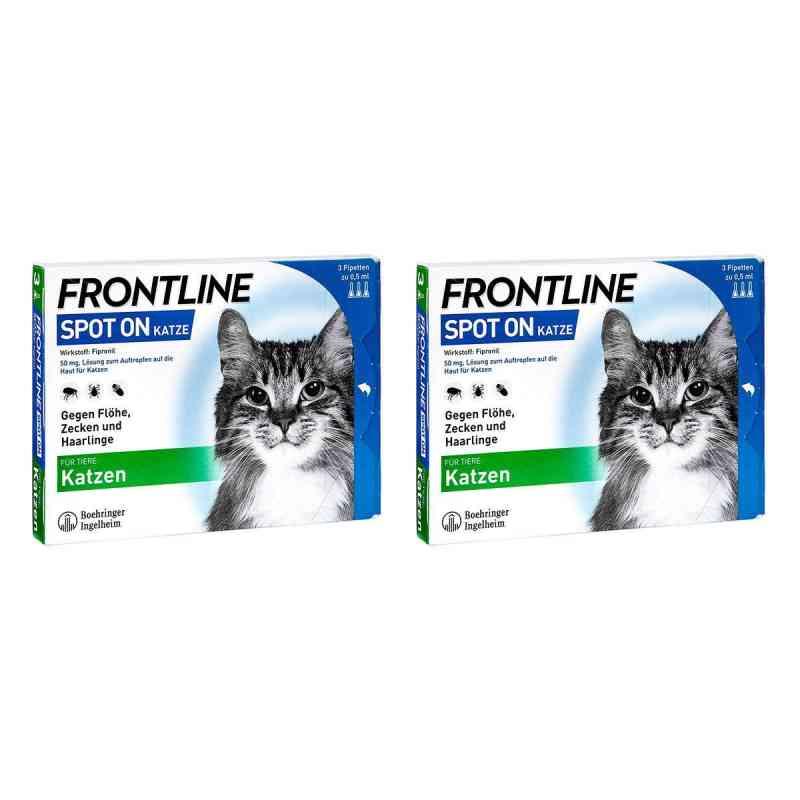 Frontline Spot on Katze veterinär Lösung gegen Floh und Zecke  bei versandapo.de bestellen