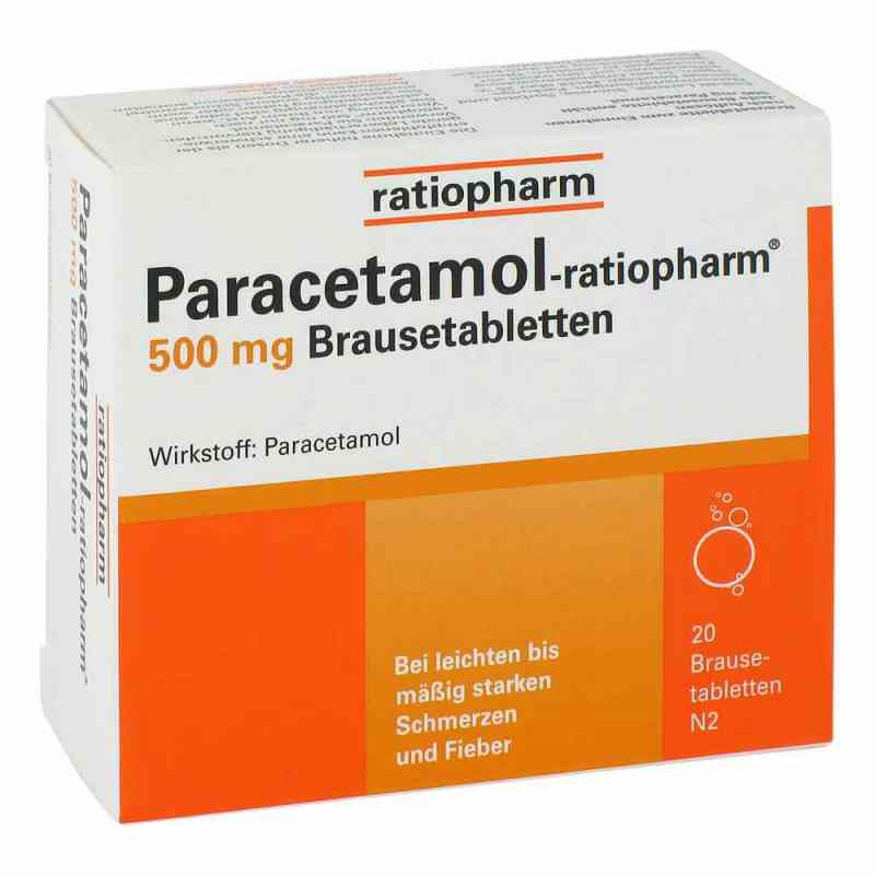 Paracetamol-ratiopharm 500mg  bei versandapo.de bestellen