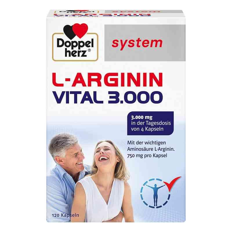 Doppelherz L-arginin Vital 3000 system Kapseln  bei versandapo.de bestellen