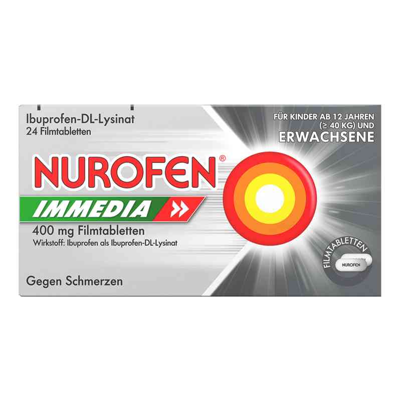 Nurofen Immedia 400mg  bei versandapo.de bestellen