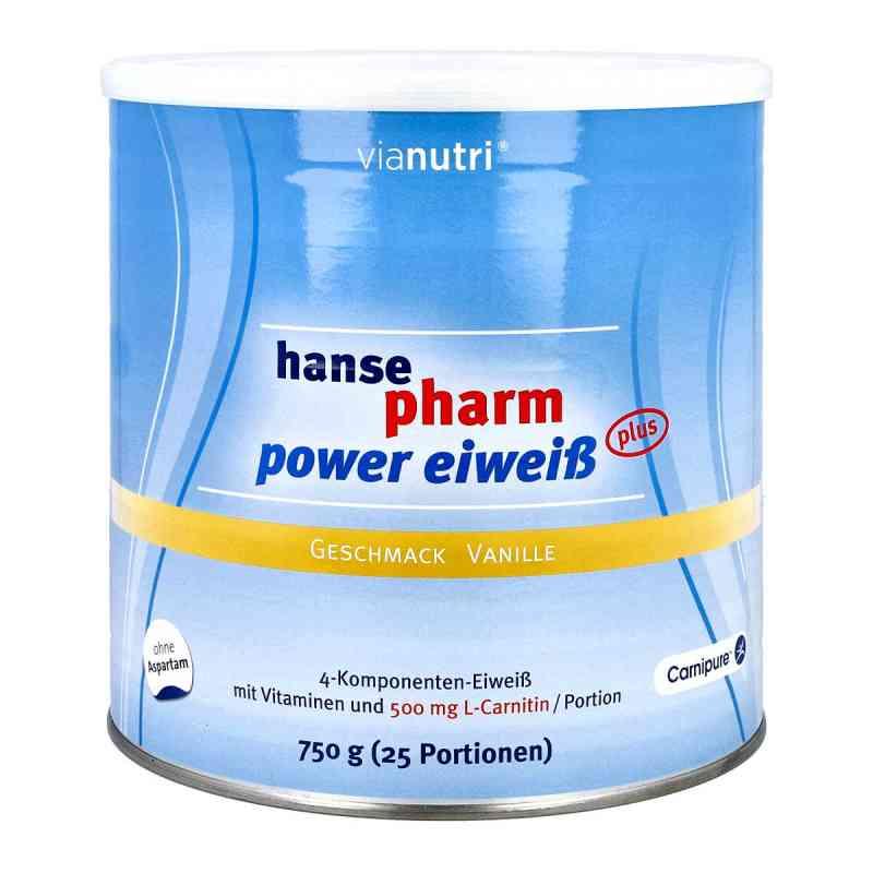 Hansepharm Power Eiweiss plus Vanille Pulver  bei versandapo.de bestellen