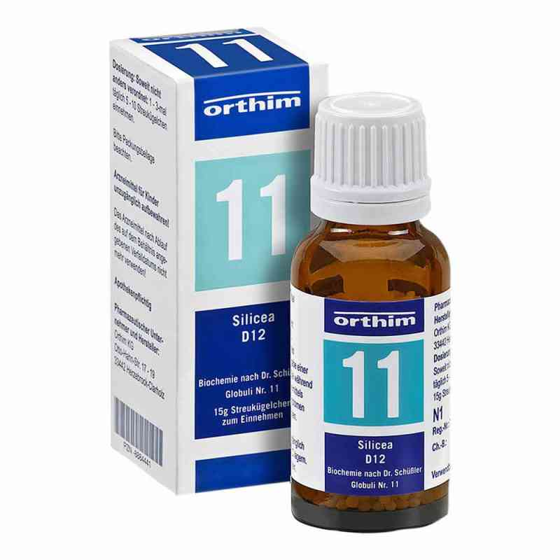 Biochemie Globuli 11 Silicea D 12  bei versandapo.de bestellen