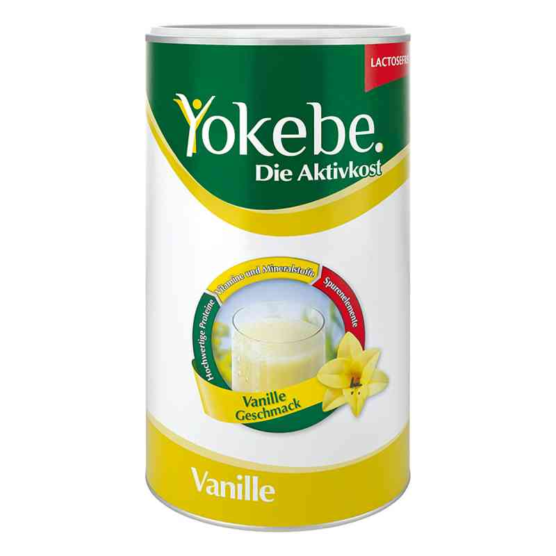Yokebe Lactosefrei Vanille Pulver  bei versandapo.de bestellen