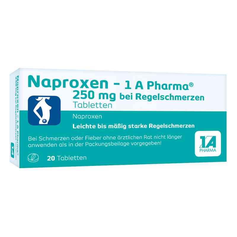Naproxen-1A Pharma 250mg bei Regelschmerzen  bei versandapo.de bestellen