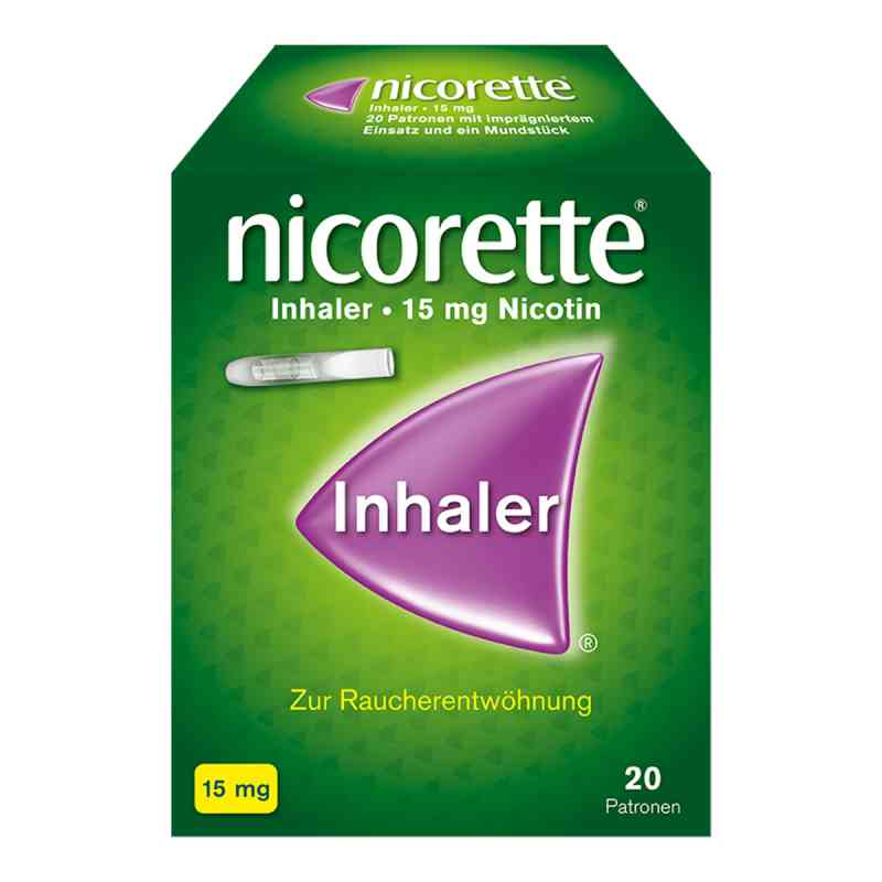 Nicorette Inhaler 15mg  bei versandapo.de bestellen