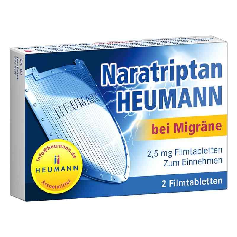Naratriptan Heumann bei Migräne 2,5mg  bei versandapo.de bestellen