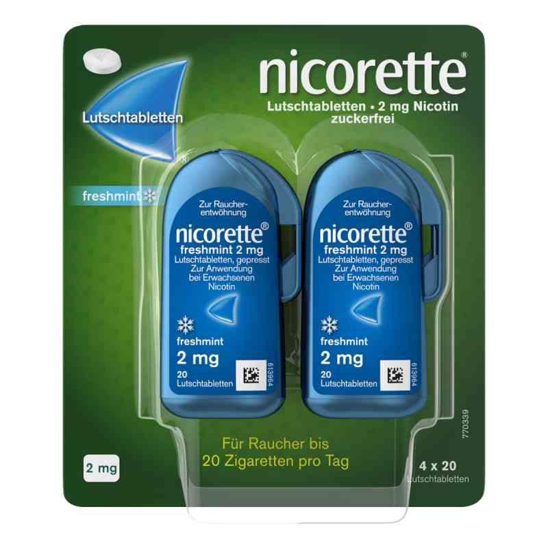 Nicorette freshmint 2 mg Lutschtabletten gepresst  bei versandapo.de bestellen