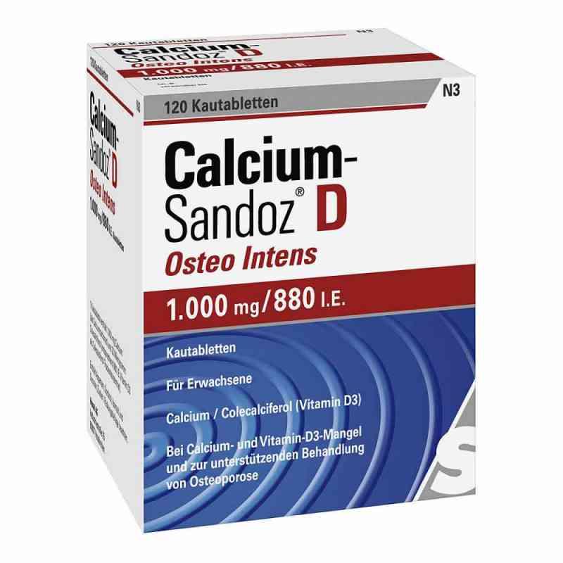 Calcium-Sandoz D Osteo intens 1000mg/880 internationale Einheite  bei versandapo.de bestellen