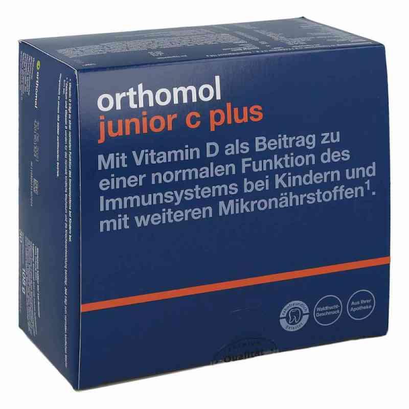Orthomol Junior C plus Kautablette (n) waldfrucht  bei versandapo.de bestellen