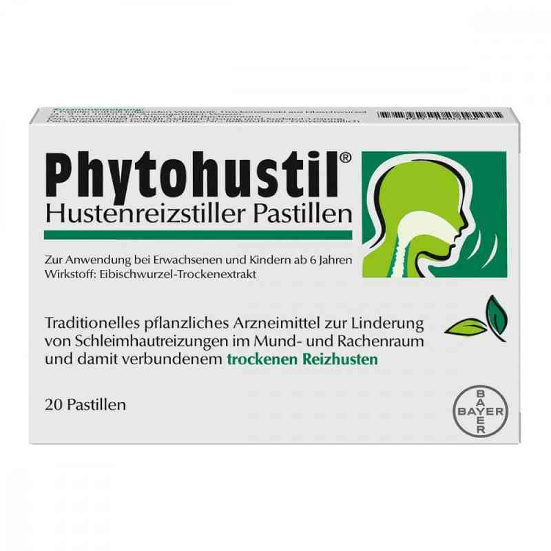 Phytohustil Hustenreizstiller Pastillen gegen Reizhusten  bei versandapo.de bestellen