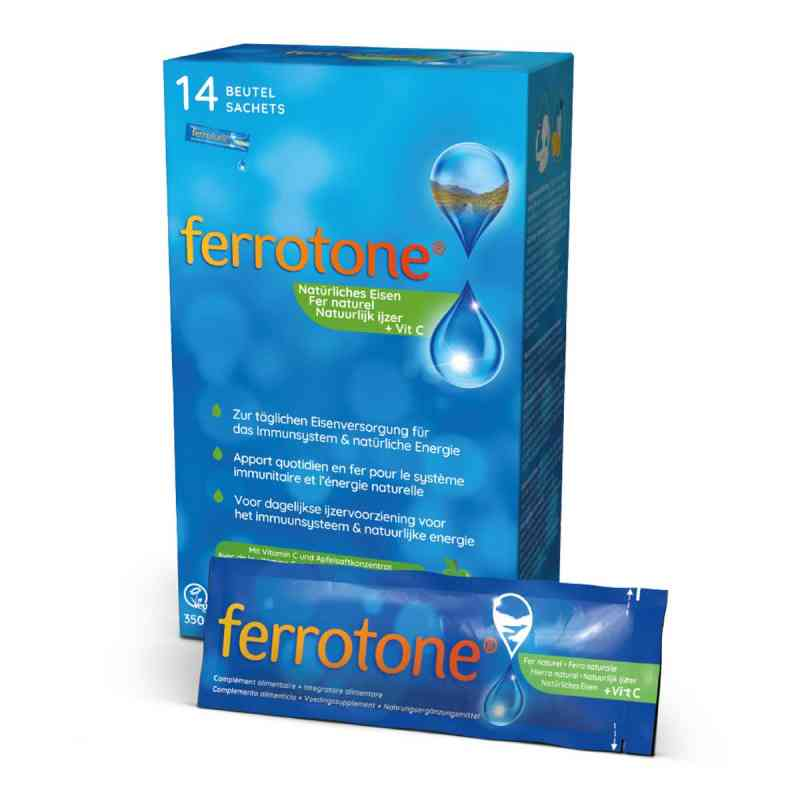 Ferrotone Eisen mit Apfelkonzentrat und Vitamin C  bei versandapo.de bestellen