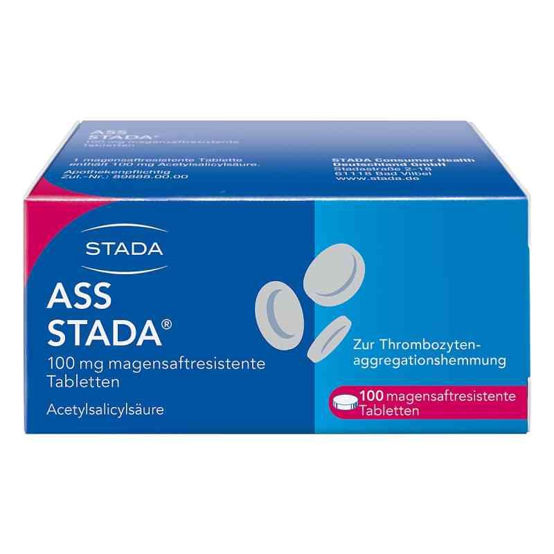 Ass Stada 100 mg magensaftresistente Tabletten  bei versandapo.de bestellen