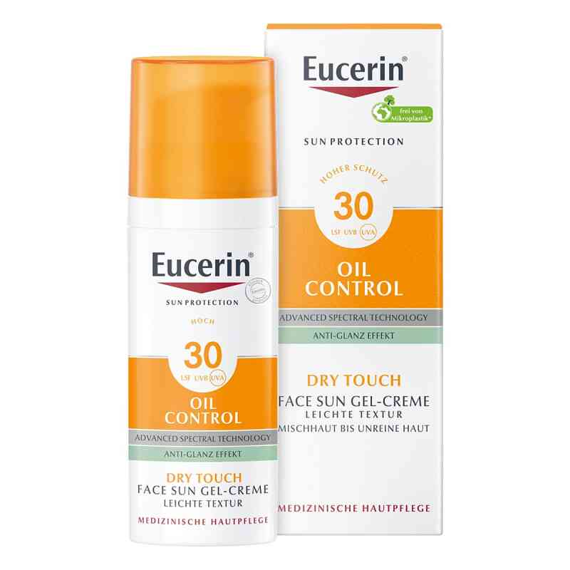 Eucerin Sun Gel-creme Oil Contr.anti-gl.eff.lsf 30  bei versandapo.de bestellen