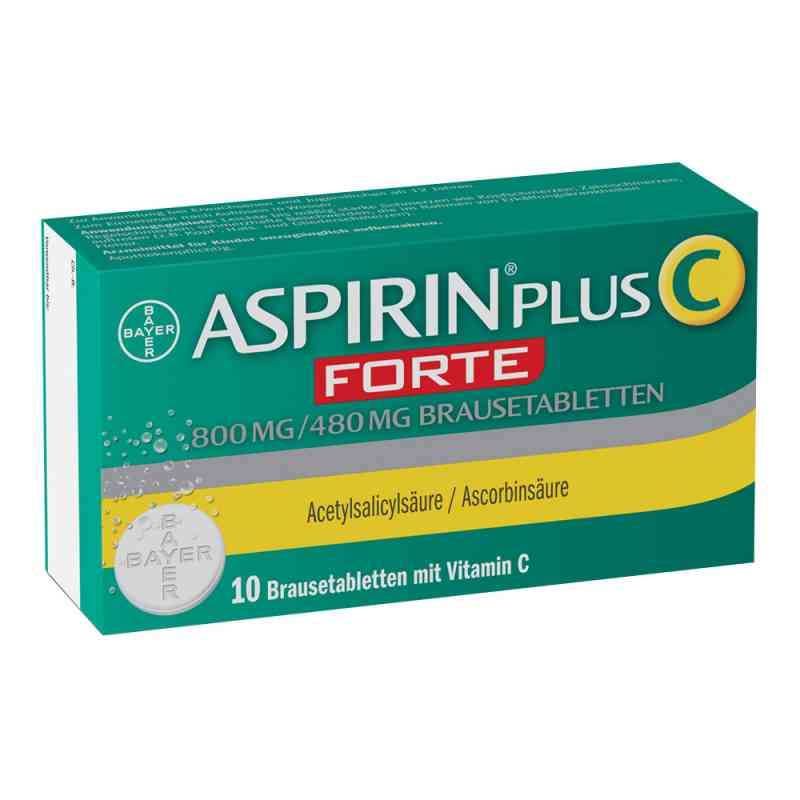 Aspirin plus C Forte 800mg/480mg Brausetabletten  bei versandapo.de bestellen
