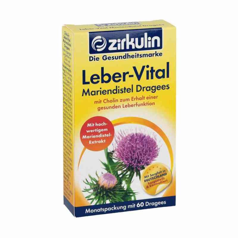 Zirkulin Leber-vital Mariendistel Dragees  bei versandapo.de bestellen