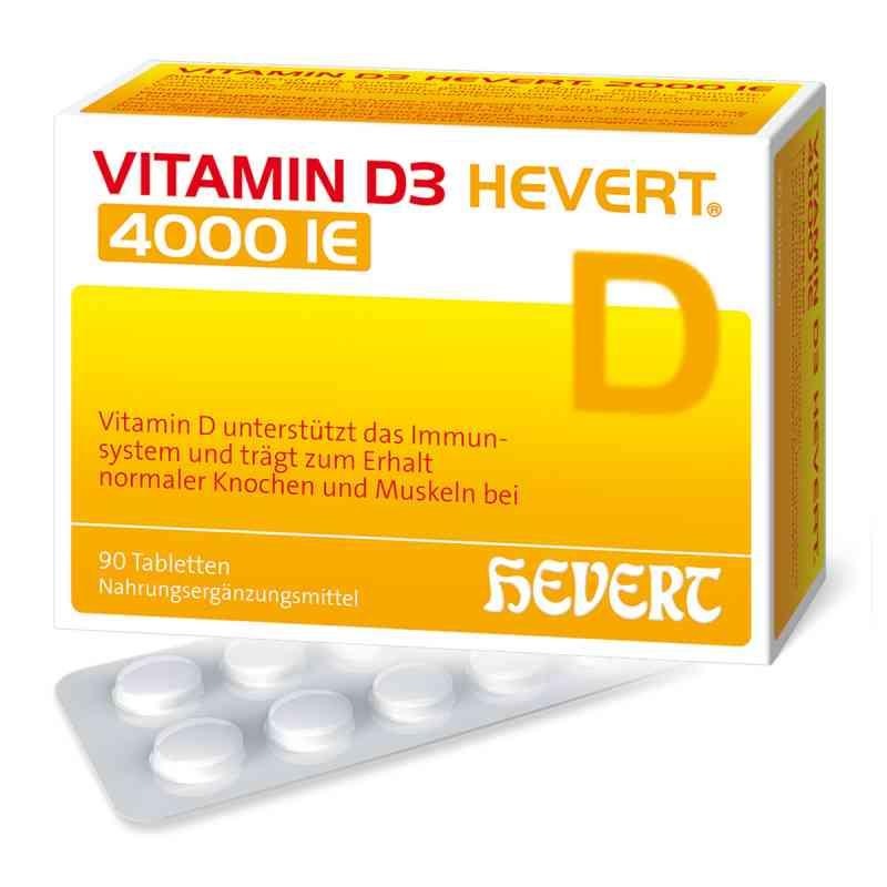 Vitamin D3 Hevert 4.000 I.e. Tabletten  bei versandapo.de bestellen