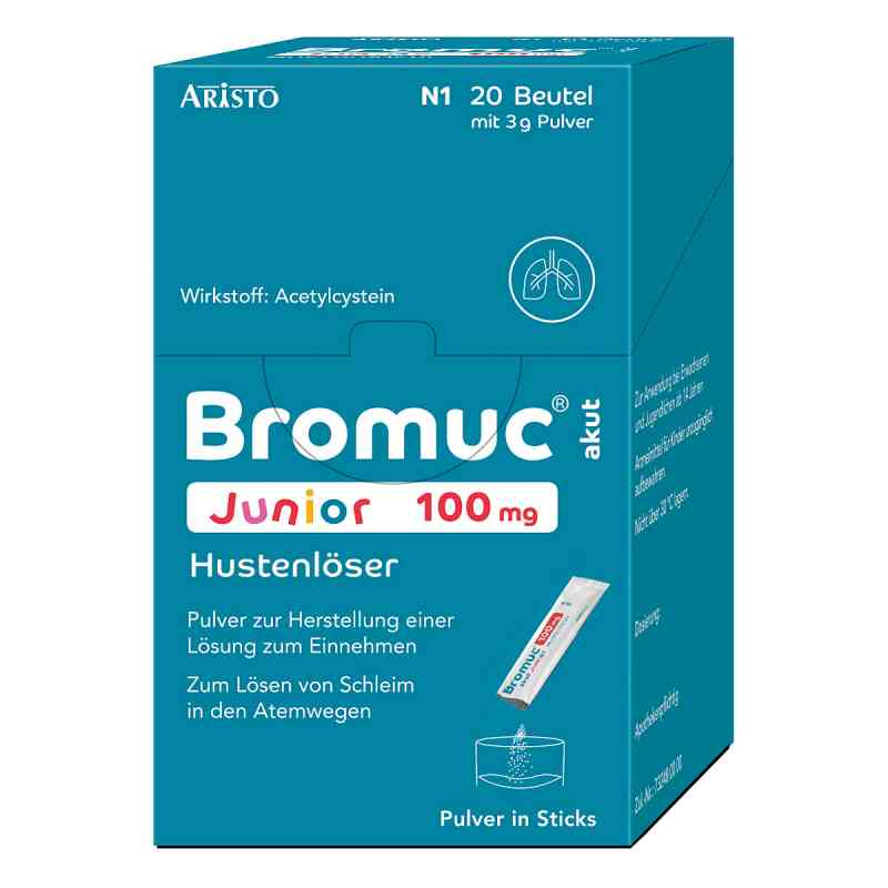 Bromuc akut Junior 100mg Hustenlöser  bei versandapo.de bestellen