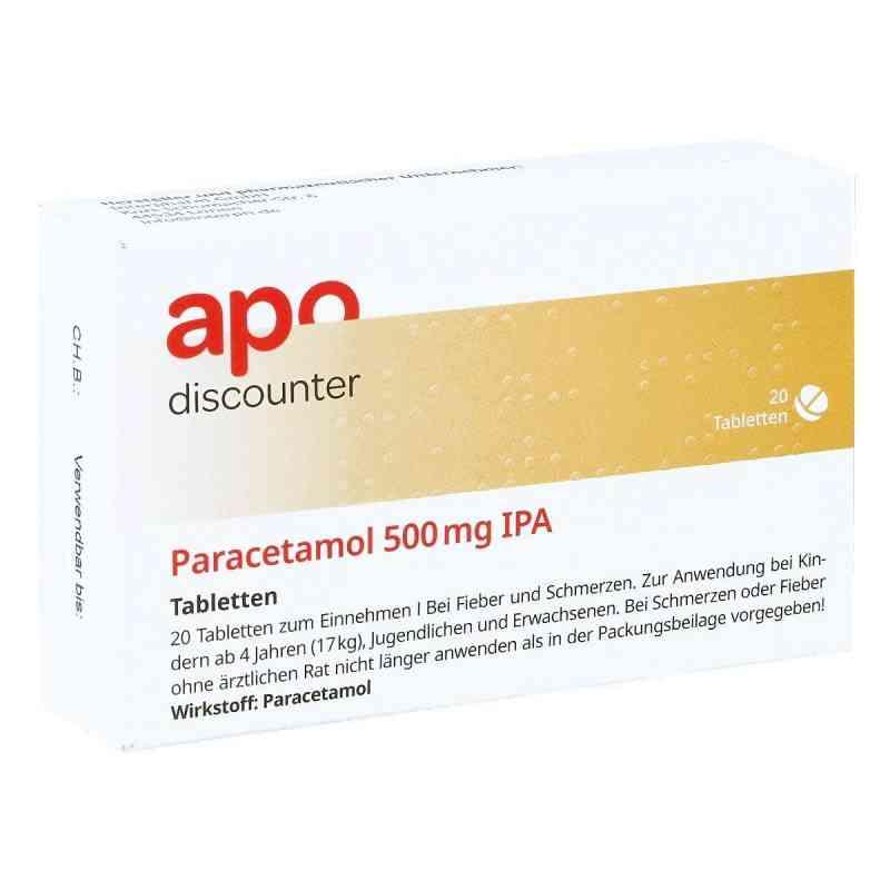 Paracetamol 500mg von apo-discounter.de  bei versandapo.de bestellen