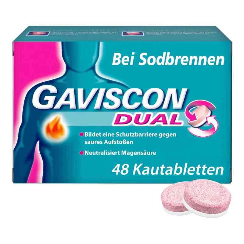 GAVISCON Dual Kautabletten bei Sodbrennen  bei versandapo.de bestellen