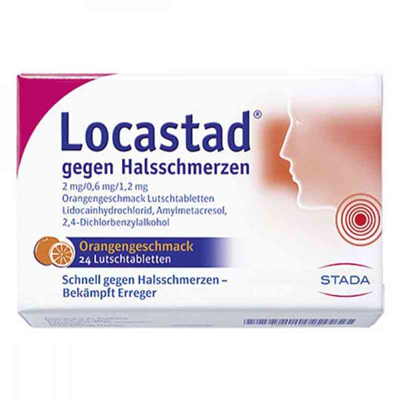 Locastad gegen Halsschmerzen 2mg/0,6mg/1,2mg Orange  bei versandapo.de bestellen
