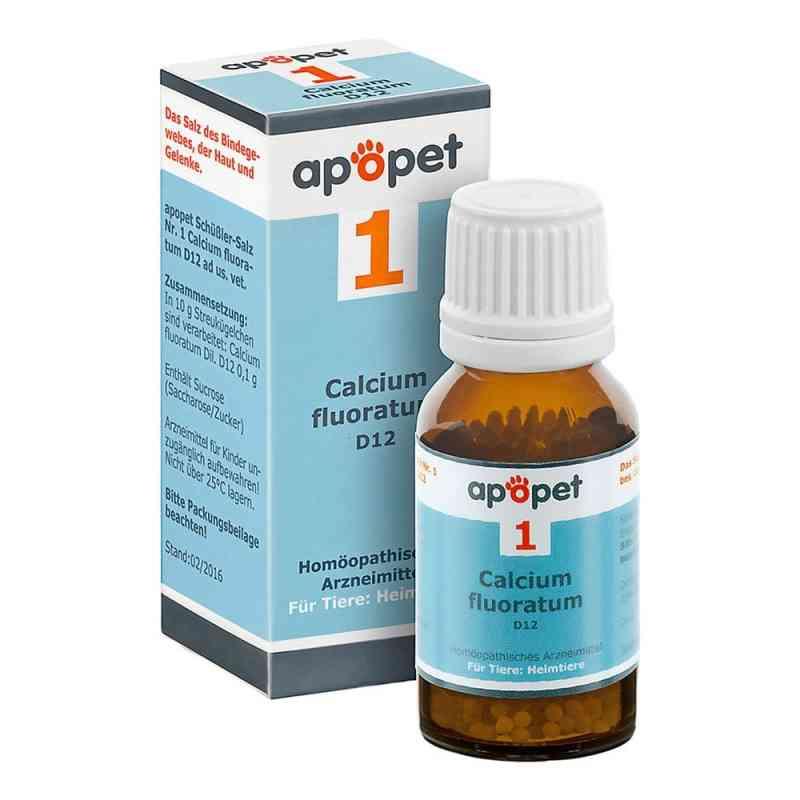 Apopet Schüssler-salz Nummer 1  Calcium fluor.D 12 veterinär   bei versandapo.de bestellen