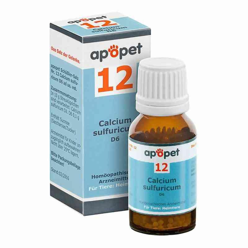 Apopet Schüssler-salz Nummer 12  Calcium sulf.D 6 veterinär   bei versandapo.de bestellen