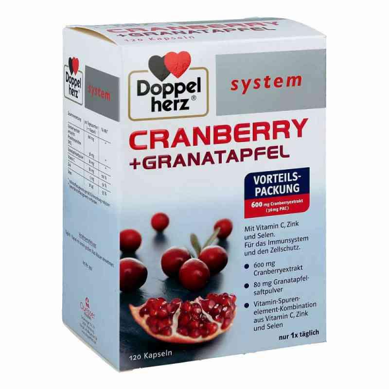 Doppelherz Cranberry+granatapfel system Kapseln  bei versandapo.de bestellen