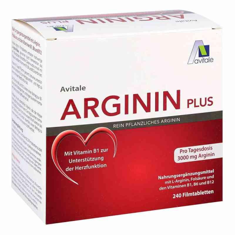 Arginin plus Vitamin B1+b6+b12+folsäure Filmtabletten  bei versandapo.de bestellen