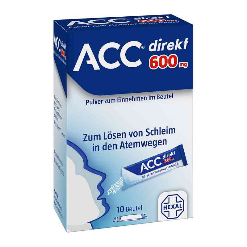 ACC direkt 600 mg Pulver zum Einnehmen im Beutel  bei versandapo.de bestellen