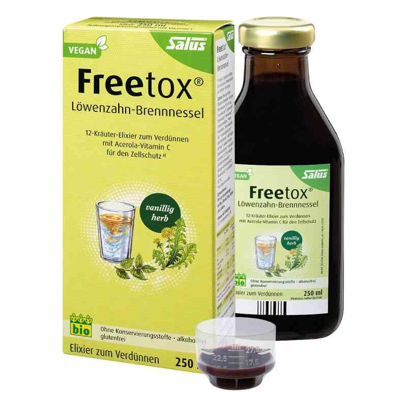 Freetox Löwenzahn-brennnessel 12-kräuter-elix.bio  bei versandapo.de bestellen