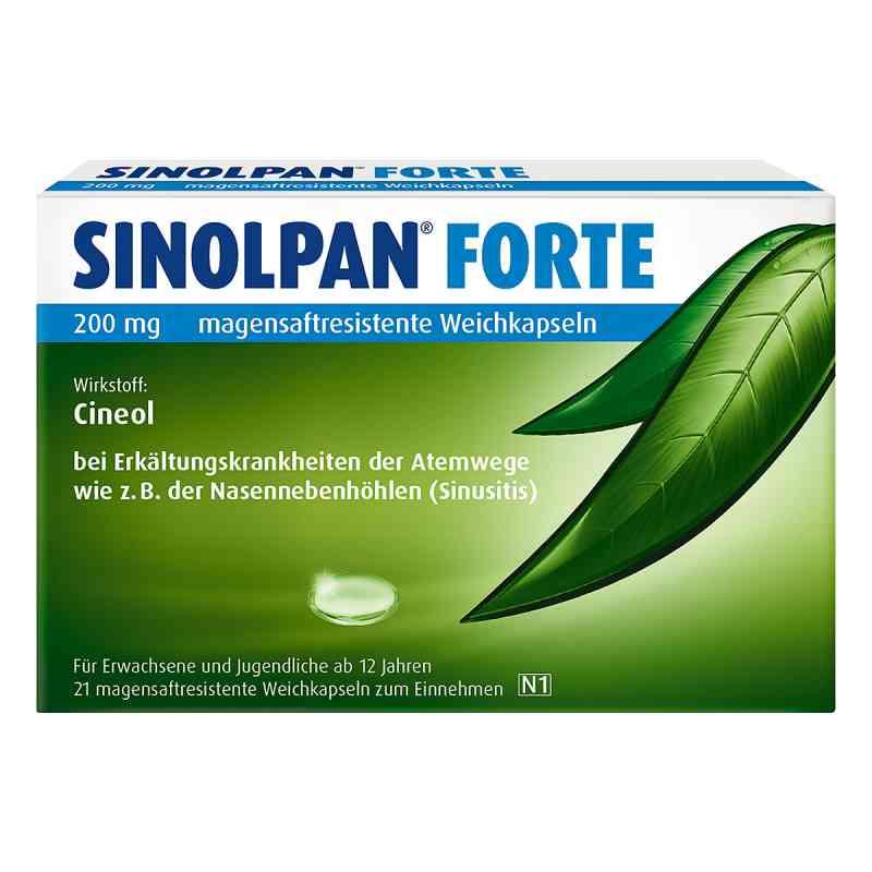 Sinolpan forte 200 mg magensaftresistent Weichkapseln  bei versandapo.de bestellen