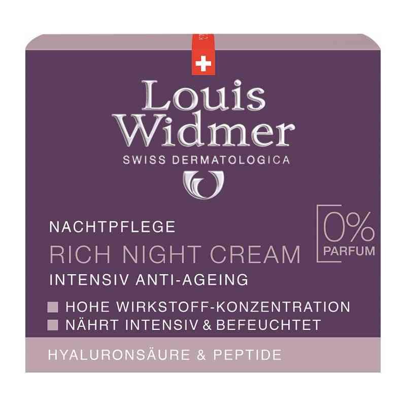Widmer Rich Night Cream unparfümiert  bei versandapo.de bestellen