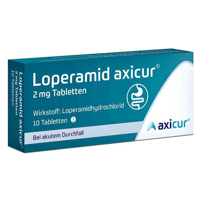 Loperamid axicur 2 mg Tabletten  bei versandapo.de bestellen
