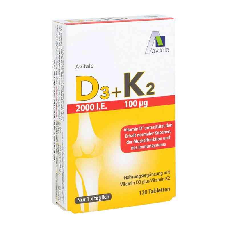 D3+k2 2000 I.e.+100 [my]g Tabletten  bei versandapo.de bestellen