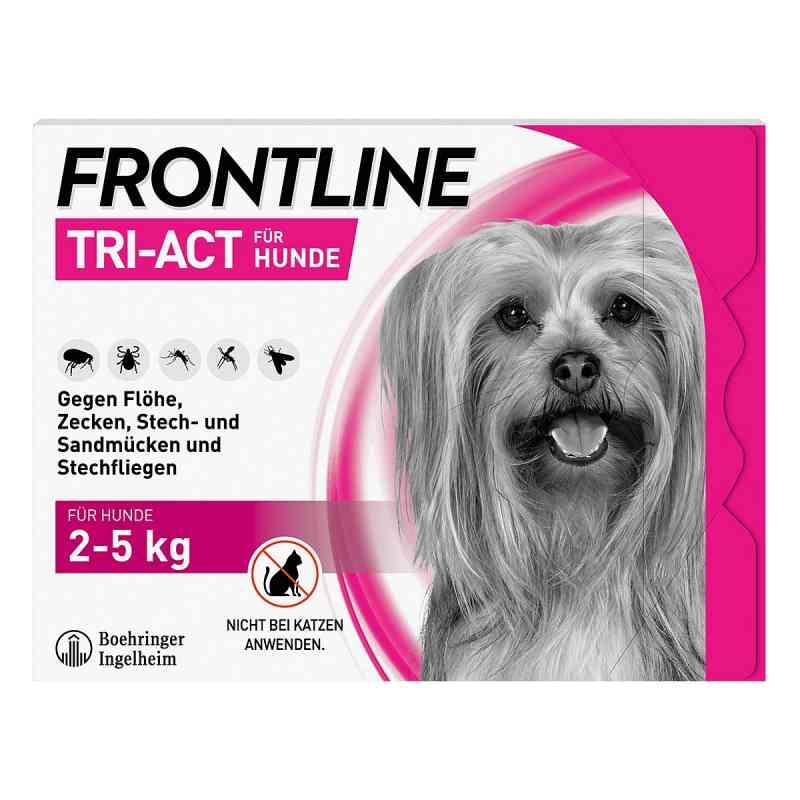 Frontline Tri-Act gegen Zecken, Flöhe beim Hund (2-5kg)  bei versandapo.de bestellen