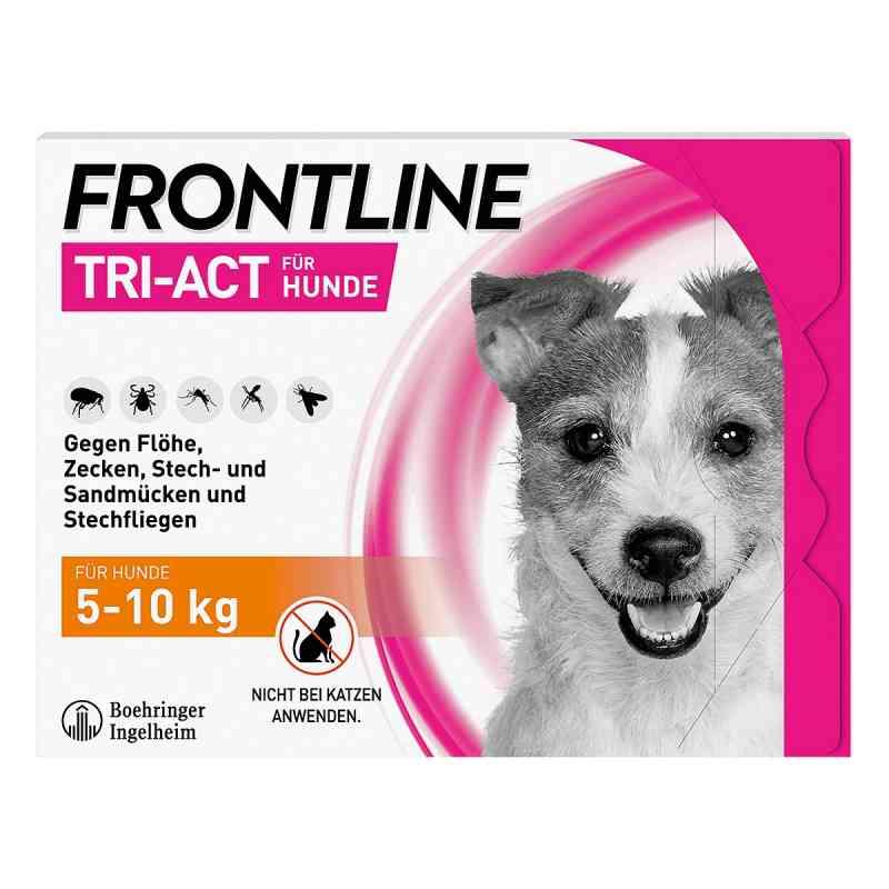 Frontline Tri-Act gegen Zecken, Flöhe bei Hunden (5-10kg)  bei versandapo.de bestellen