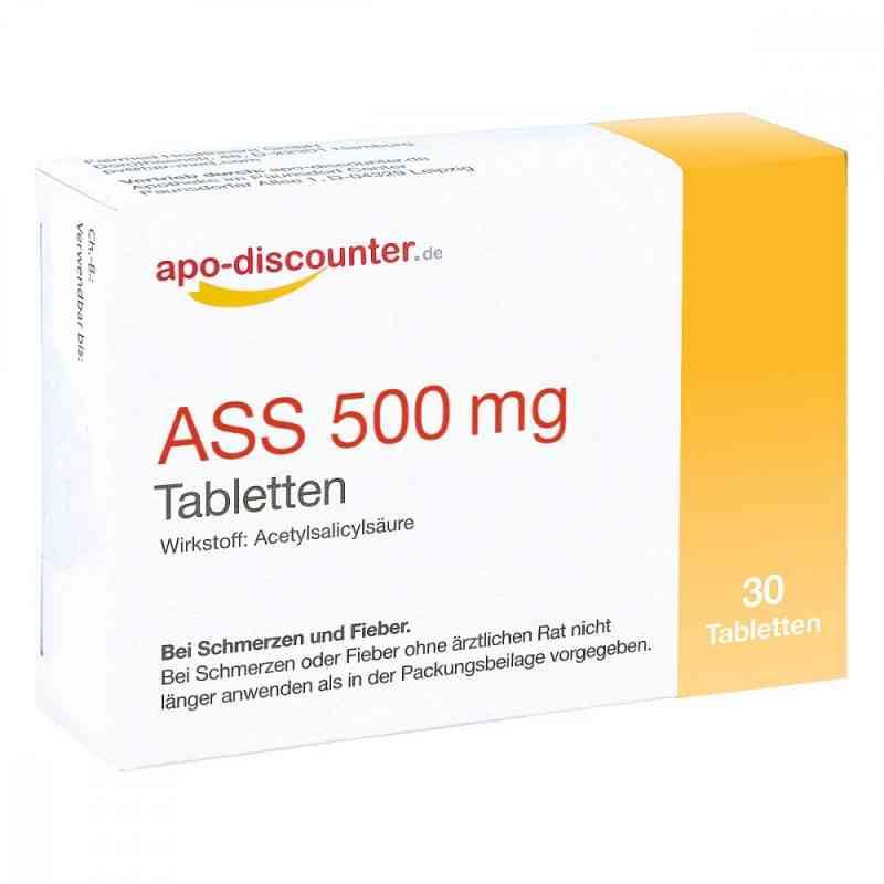 Ass 500 mg Tab apo-discounter  bei versandapo.de bestellen