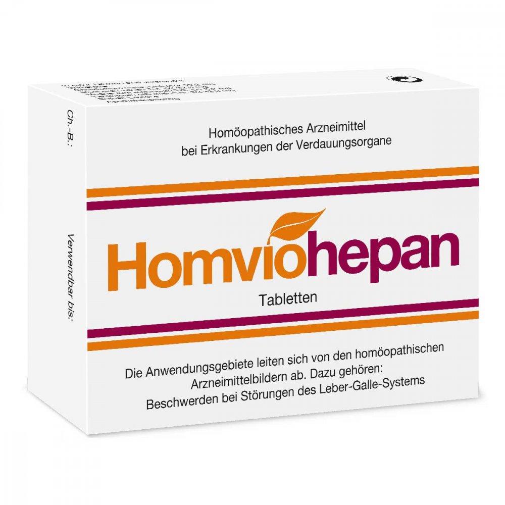 Homviohepan Tabletten 75 Stk Bei Versandapode