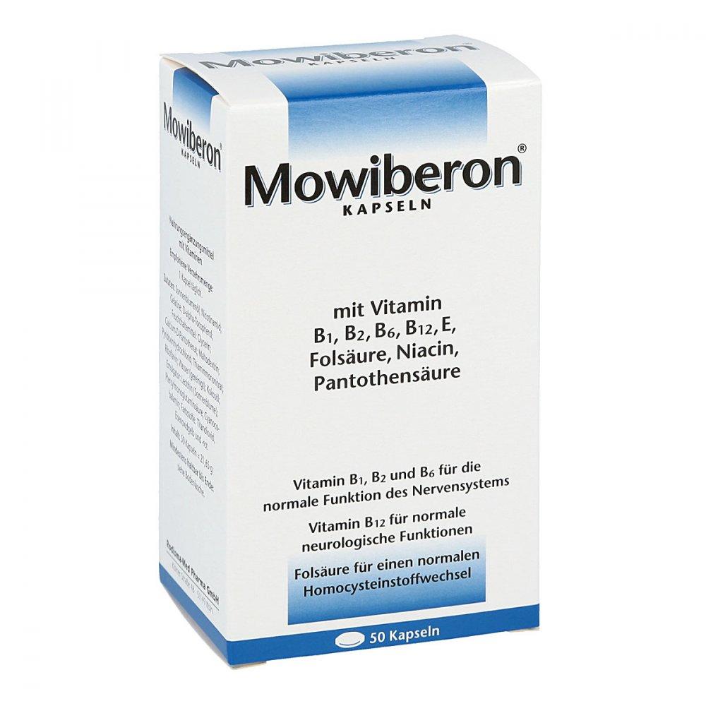Mowiberon Kapseln 50 stk aus der Versandapotheke - versandApo