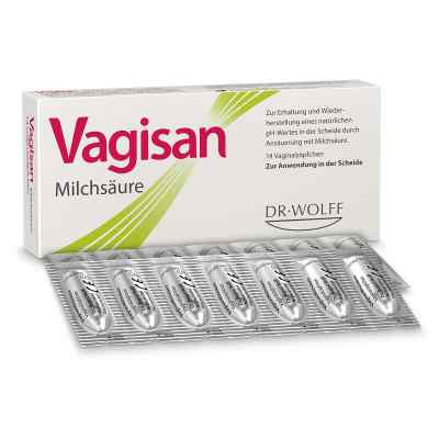 Vagisan Milchsäure Vaginalzäpfchen  bei versandapo.de bestellen