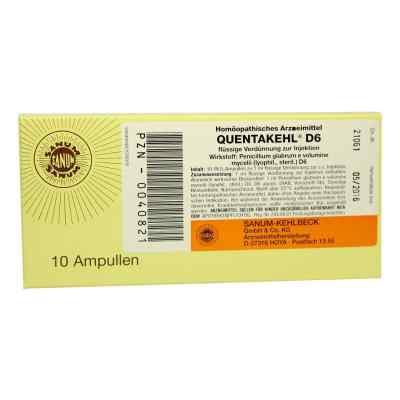 Quentakehl D 6 Ampullen  bei versandapo.de bestellen