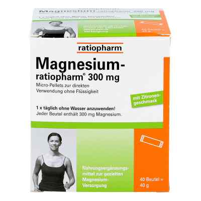 Magnesium Ratiopharm 300 mg Micro Pell.m.gran.  bei versandapo.de bestellen